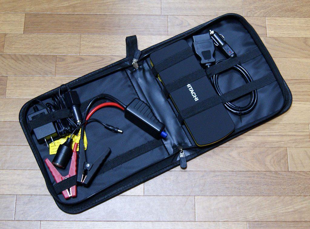 車のバッテリー上がりにも対応したモバイルバッテリー<日立ポータブルパワーソース PS-18000>