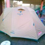 ミニマムキャンプで使えるコールマンテント<タフドーム/240・タフドーム/2725>