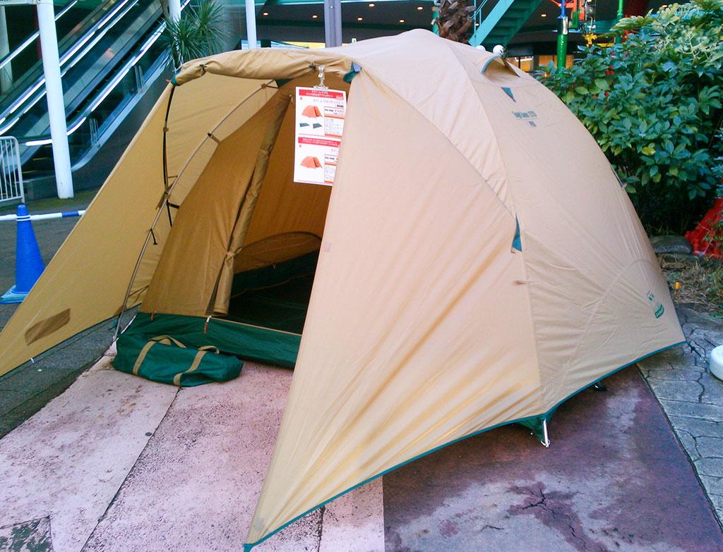 コールマン タフシリーズ テント