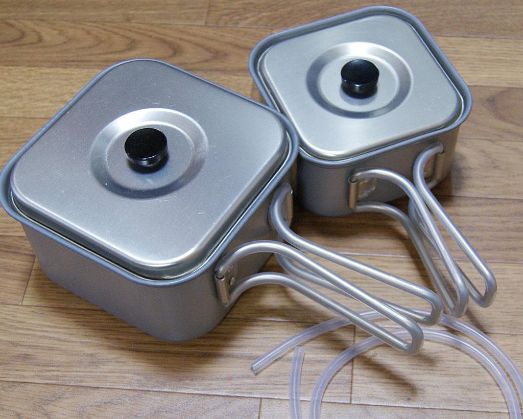 コッヘル(クッカー)の取っ手に断熱チューブを取り付ける<やけど防止>9