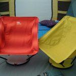 テント内でもテント外でも使えるあぐら椅子 THERMAREST サーマレスト ウノチェア UNO CHAIR