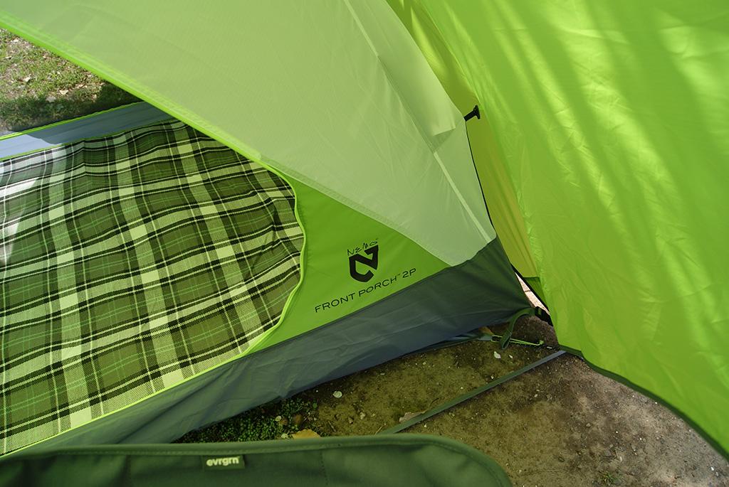 デイキャンプに使いたい<ニーモ(NEMO )フロントポーチ2Pテント<FRONT PORCH 2P TENT>3