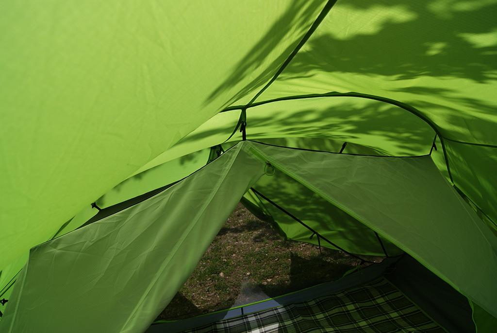 デイキャンプに使いたい<ニーモ(NEMO )フロントポーチ2Pテント<FRONT PORCH 2P TENT>4