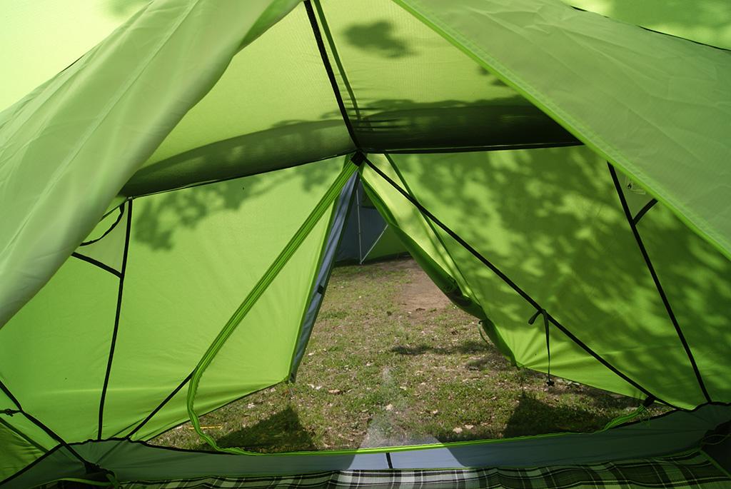 デイキャンプに使いたい<ニーモ(NEMO )フロントポーチ2Pテント<FRONT PORCH 2P TENT>5