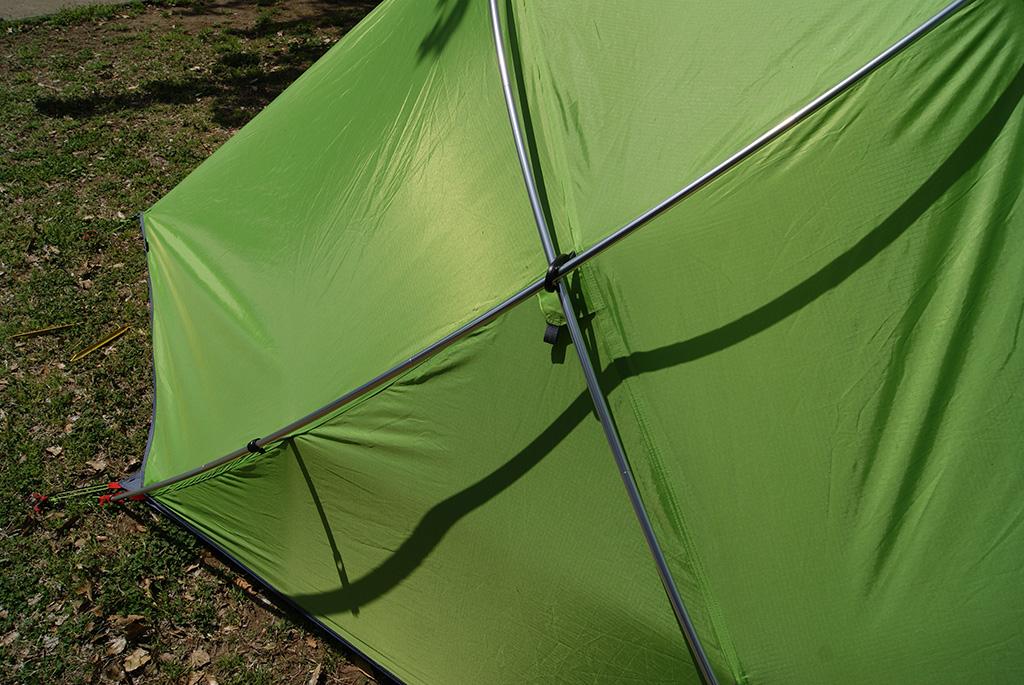 デイキャンプに使いたい<ニーモ(NEMO )フロントポーチ2Pテント<FRONT PORCH 2P TENT>6