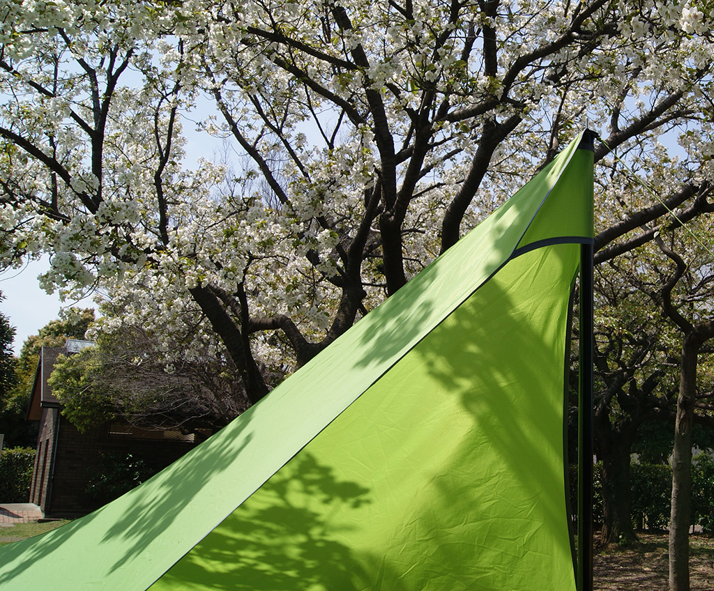 デイキャンプに使いたい<ニーモ(NEMO )フロントポーチ2Pテント<FRONT PORCH 2P TENT>7