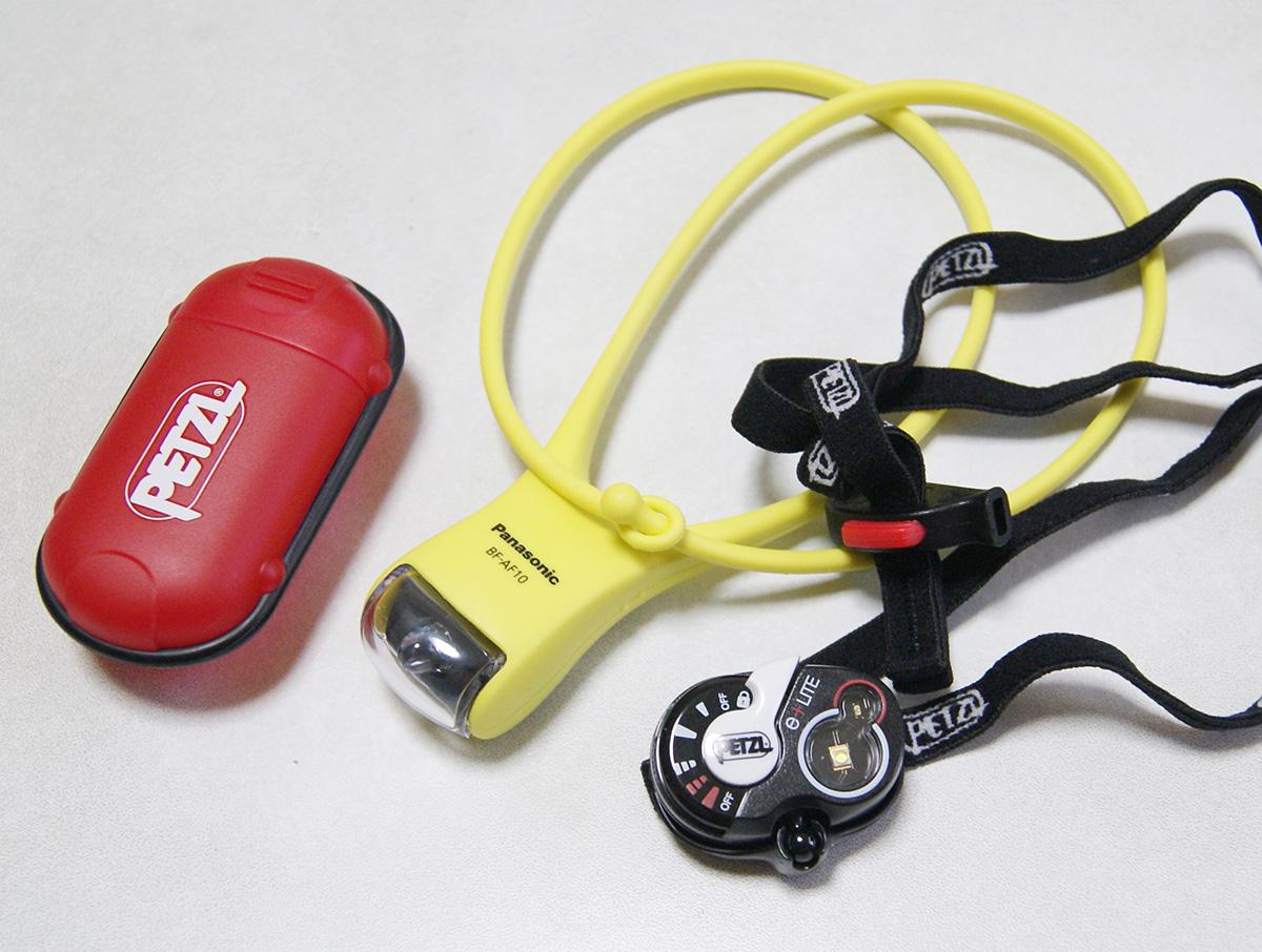 ミニマムキャンプに便利な軽量ヘッドライト<Petzl ペツル e+LITE(イーライト)>02