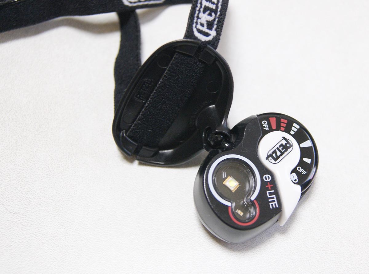 ミニマムキャンプに便利な軽量ヘッドライト<Petzl ペツル e+LITE(イーライト)>03