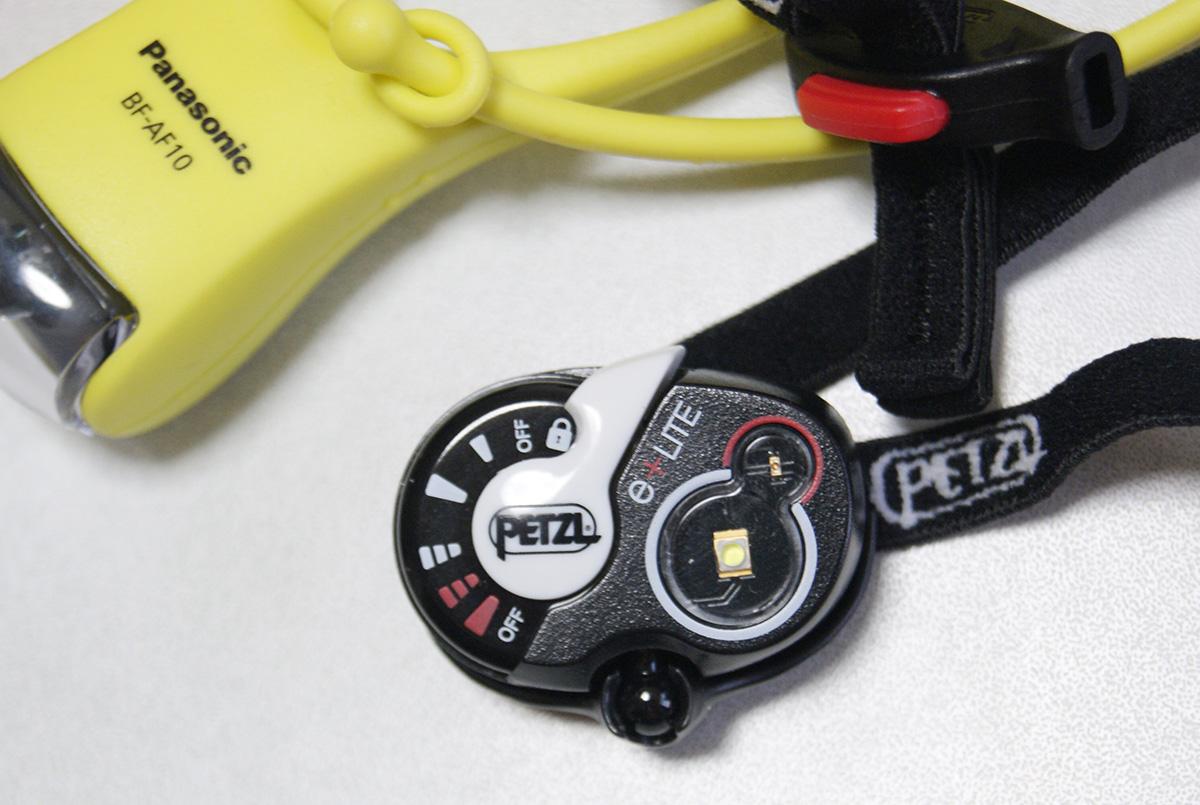 ミニマムキャンプに便利な軽量ヘッドライト<Petzl ペツル e+LITE(イーライト)>04
