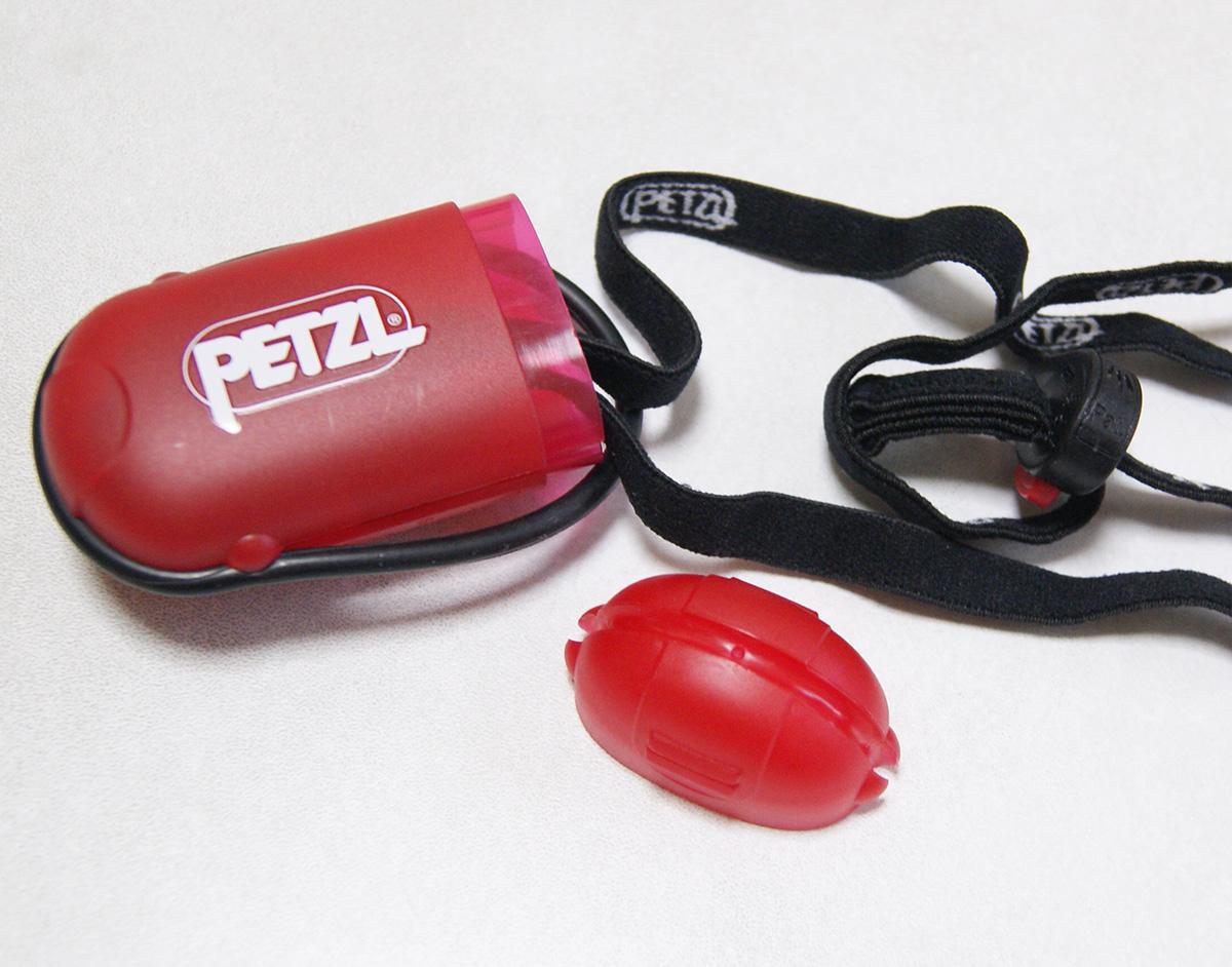 ミニマムキャンプに便利な軽量ヘッドライト<Petzl ペツル e+LITE(イーライト)>08