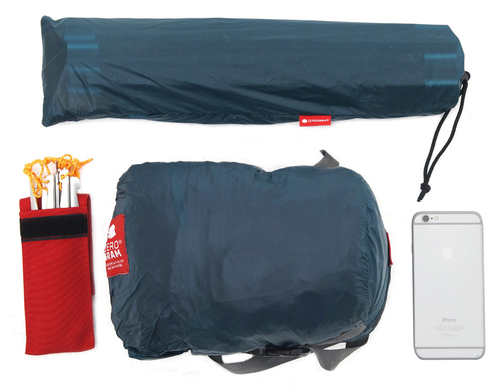 フライ、インナー、フットプリントが一体となった軽量テント「El Chalten 1.5P Tango」<ゼログラムテント>6