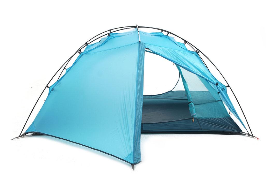 フライ、インナー、フットプリントが一体となった軽量テント「El Chalten 1.5P Tango」<ゼログラムテント>8
