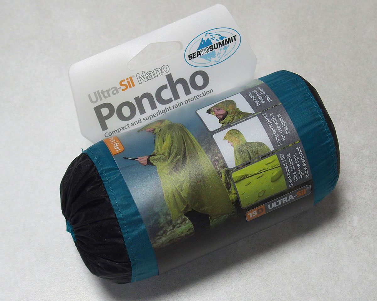 キャンプがミニマムなら雨具もミニマムに<シートゥーサミット Ultra-Sil Nano Poncho>2