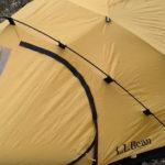 コストパフォーマンスの高いL.L.Bean(エルエルビーン)バックカントリー・ドーム・テント