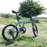 キャンプ場で1台あると便利な折り畳み自転車
