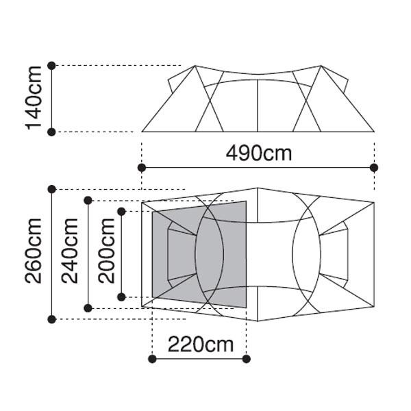 DT-004 / ロガ4 広さ