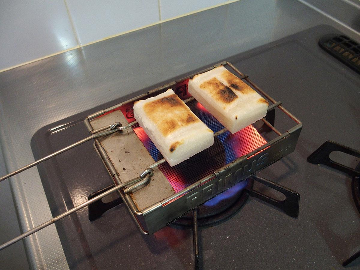 結局お餅を焼くなら「PRIMUS(プリムス) フォールディングトースター」