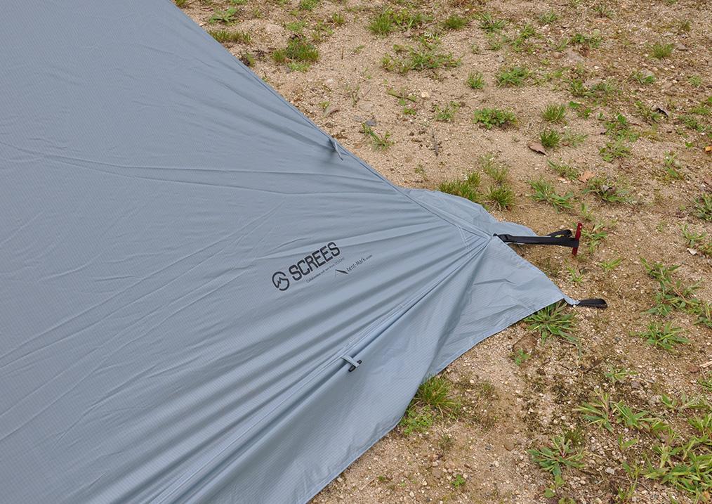 ヤリ 3×3(YARI 3×3)の発売が少し延期されました<tent-Mark DESIGNS >4
