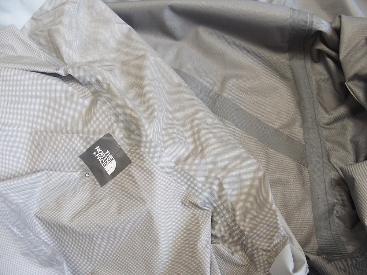 2.5レイヤー雨具のシーリングテープを使ったシーム状態3