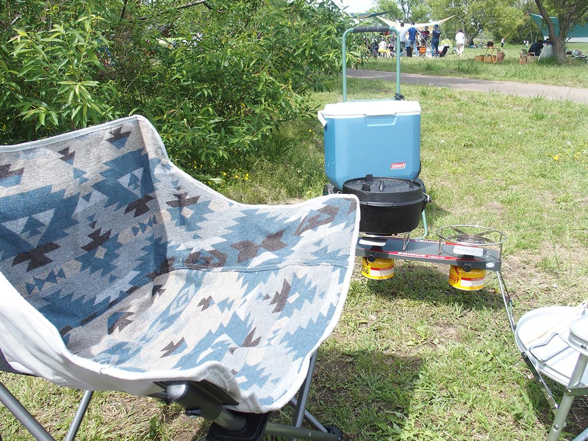 デイキャンプ(DAYキャンプ)はミニマムにワンタッチサンシェードキャンプ3