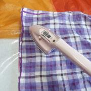テント、タープのシームテープの貼りかえや補修に便利なアイロン<裁縫こて>