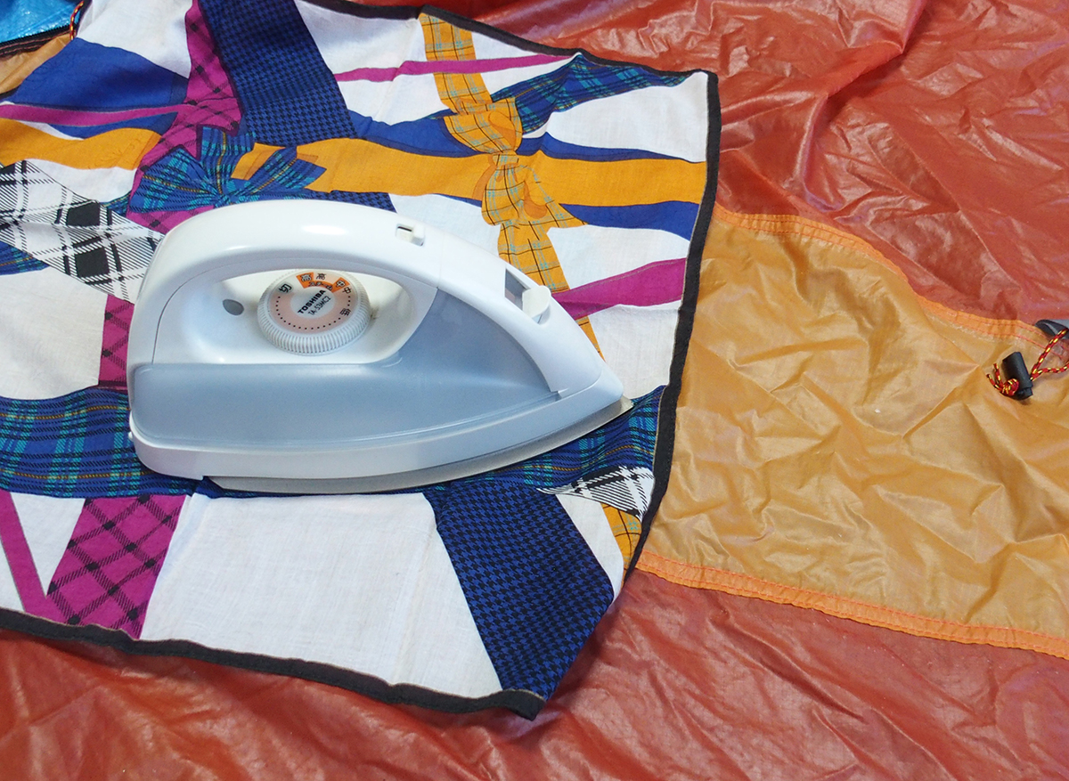 テント、タープのシームテープの貼りかえや補修に便利なアイロン<裁縫こて>5