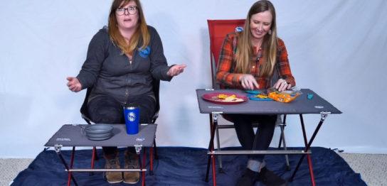 ミニマムな軽量テーブルの選び方<高さと大きさ>