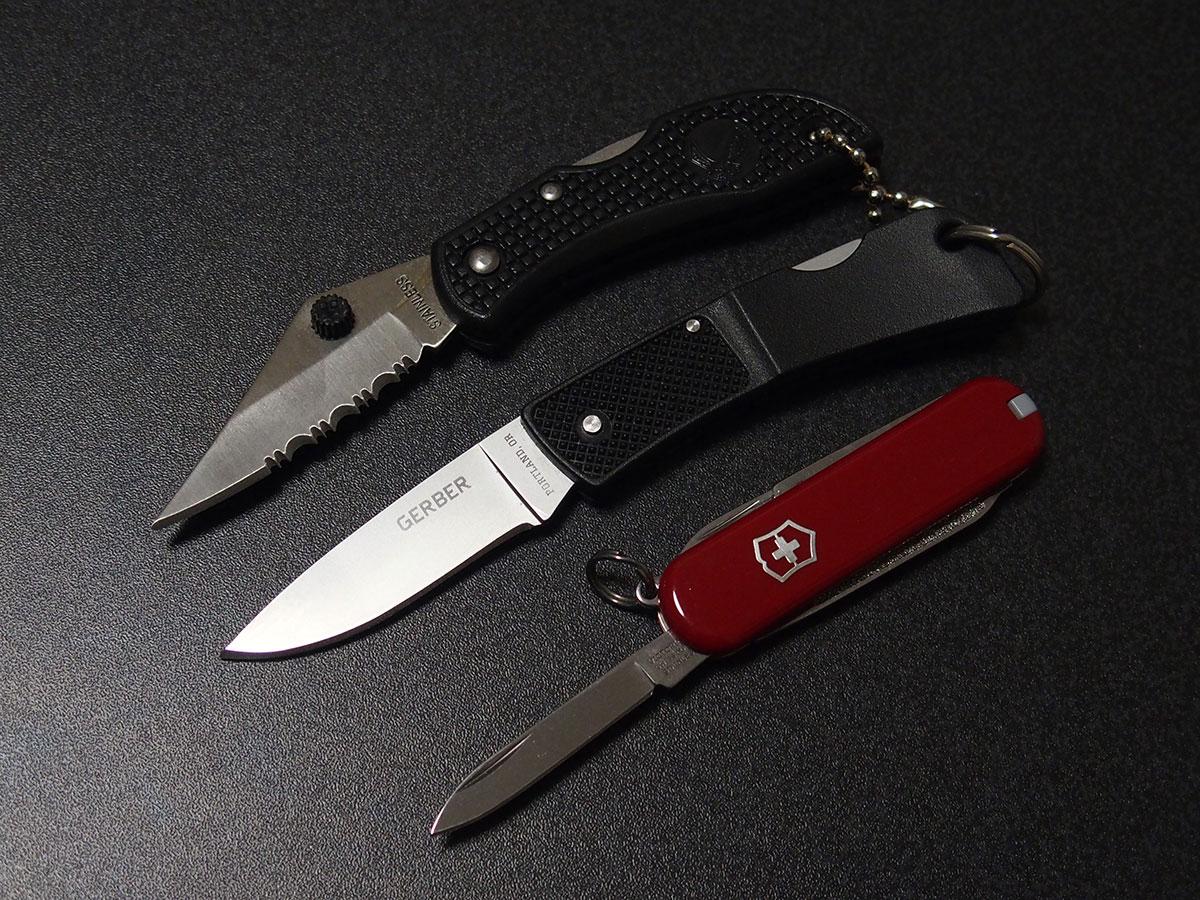 ミニマムなナイフ「FOLDING LOCK BACK KNIFE」2