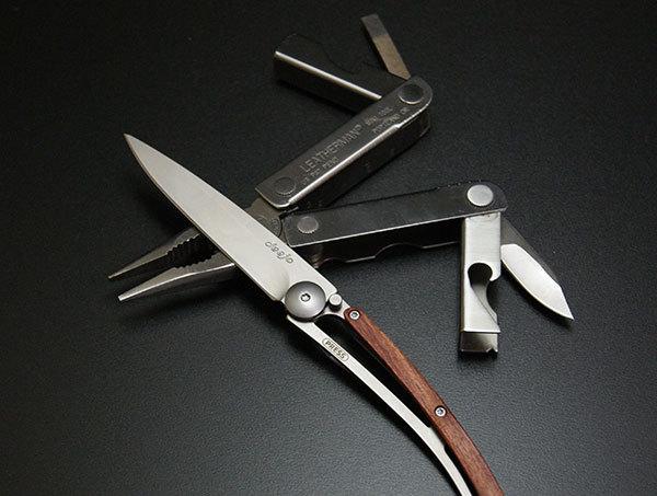 ディージョ/DEEJOのポケットナイフ<ROSE WOOD(ローズウッド)27g>