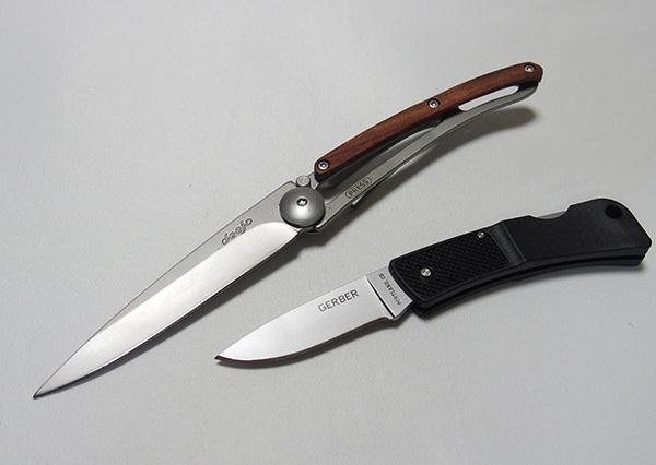 モンベルでナイフを買いました<GERBERウルトラライトLSTポケットナイフ>