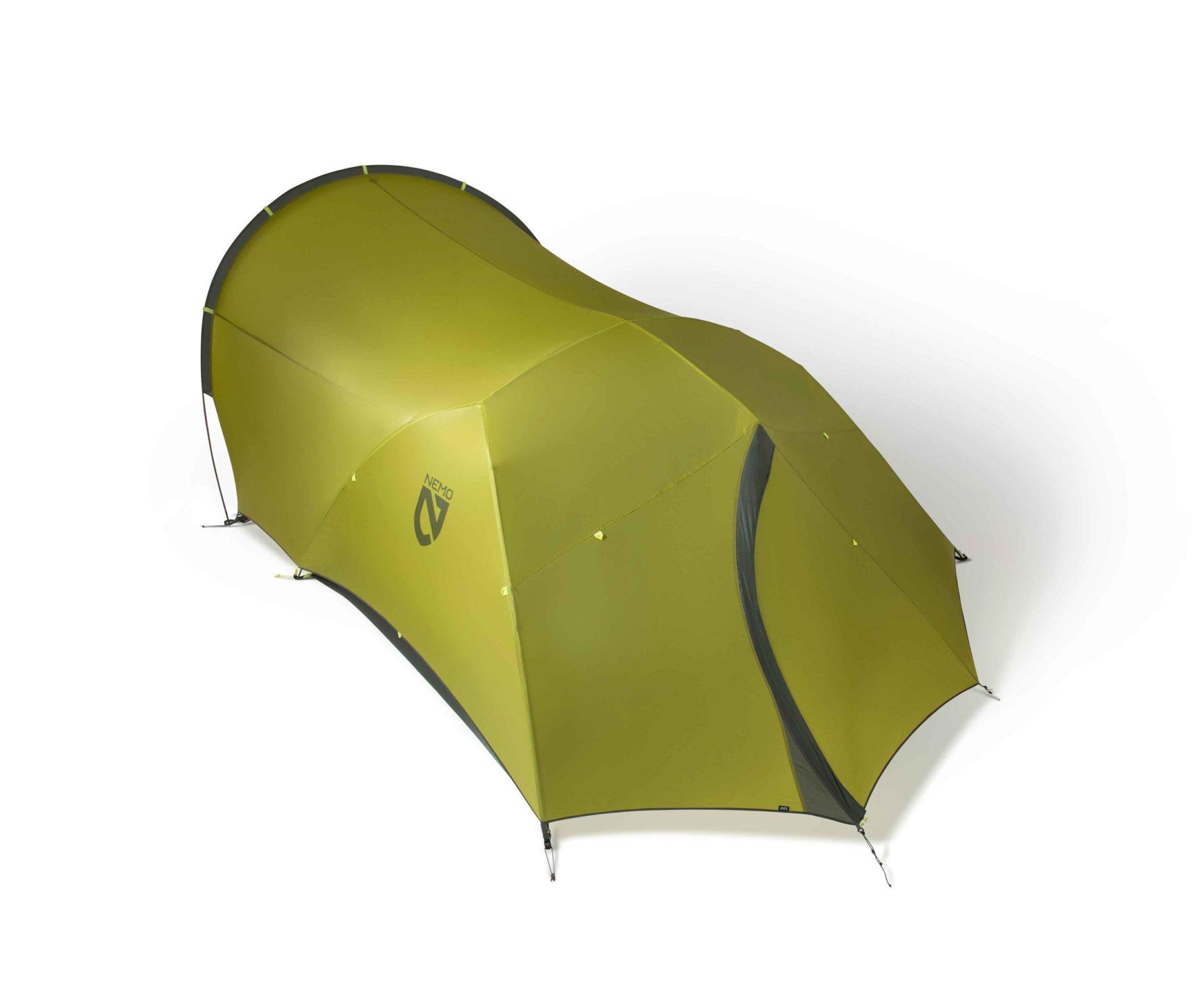 NEMO(ニーモ)から巨大な前室を持つミニマムなテントが発売されました「DAGGER PORCH TENT」6
