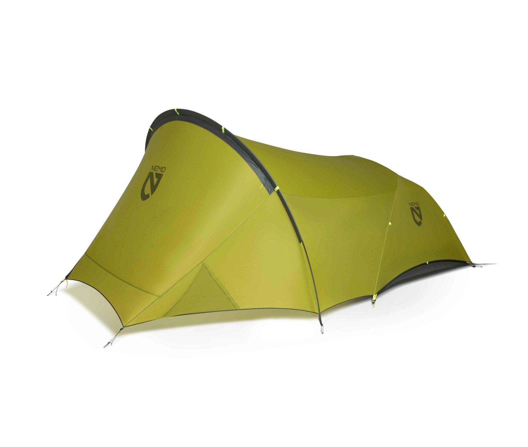 NEMO(ニーモ)から巨大な前室を持つミニマムなテントが発売されました「DAGGER PORCH TENT」
