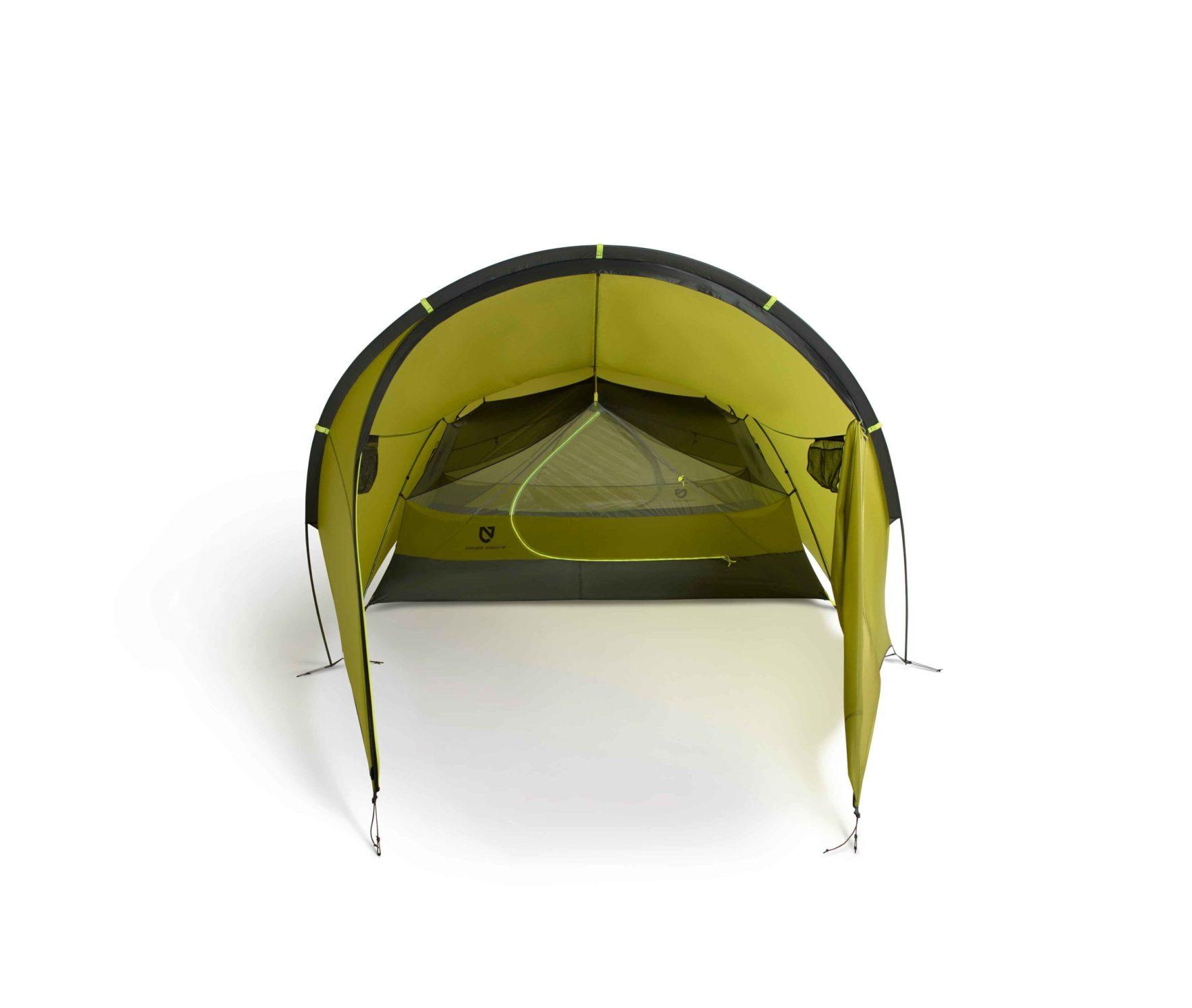 NEMO(ニーモ)から巨大な前室を持つミニマムなテントが発売されました「DAGGER PORCH TENT」5