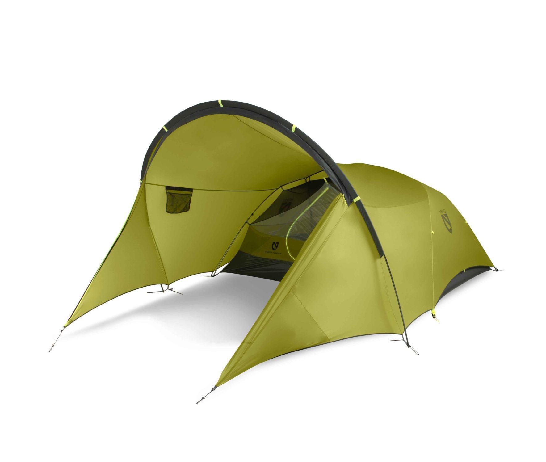 NEMO(ニーモ)から巨大な前室を持つミニマムなテントが発売されました「DAGGER PORCH TENT」2