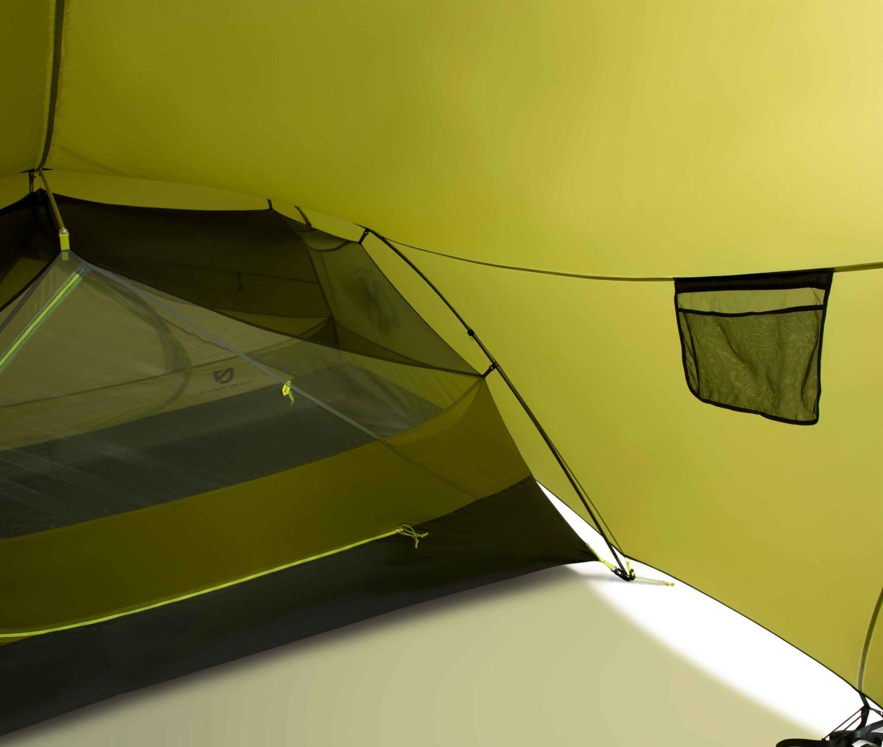 NEMO(ニーモ)から巨大な前室を持つミニマムなテントが発売されました「DAGGER PORCH TENT」7