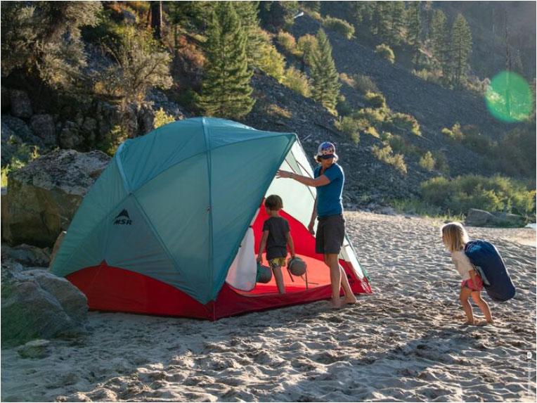 ファミリー・グループに最適な大型テントがMSRから新発売<MSR 2020 Habitude 4/6 Family & Group Camping Ten>1