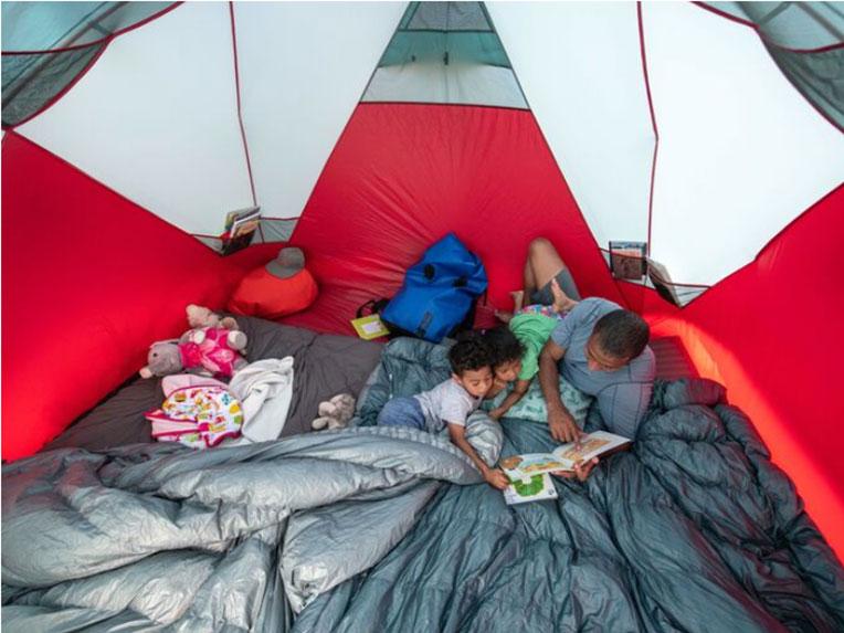ファミリー・グループに最適な大型テントがMSRから新発売<MSR 2020 Habitude 4/6 Family & Group Camping Ten>4
