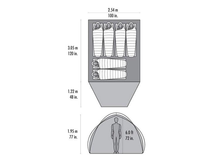ファミリー・グループに最適な大型テントがMSRから新発売<MSR 2020 Habitude 4/6 Family & Group Camping Ten>9