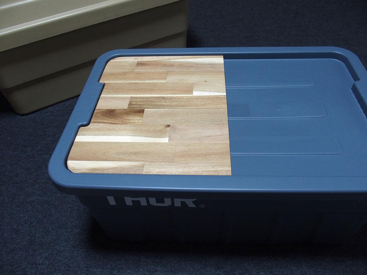 荷物運び用コンテナボックスをおしゃれなテーブルに変えてくれる<「THOR」テーブルトップ>4