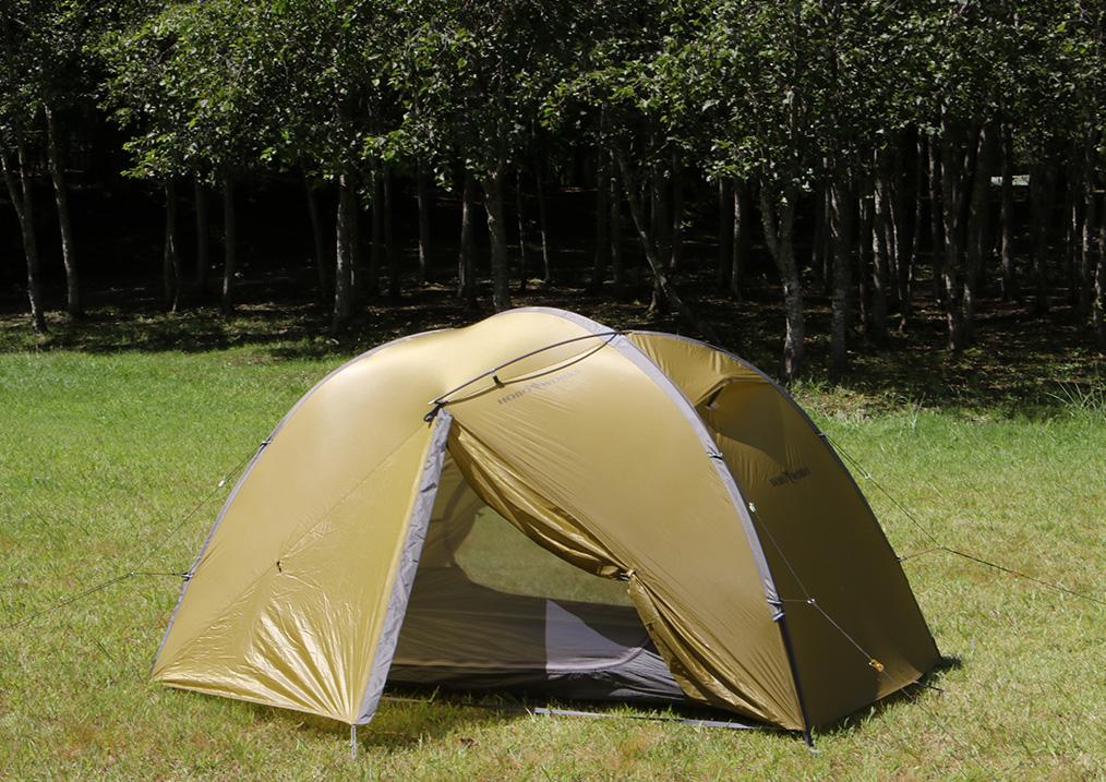<tent-Mark DESIGNS >から設営3分、撤収1分のテント「ホーボーズネスト 2」5
