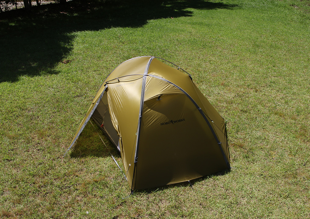 <tent-Mark DESIGNS >から設営3分、撤収1分のテント「ホーボーズネスト 2」6