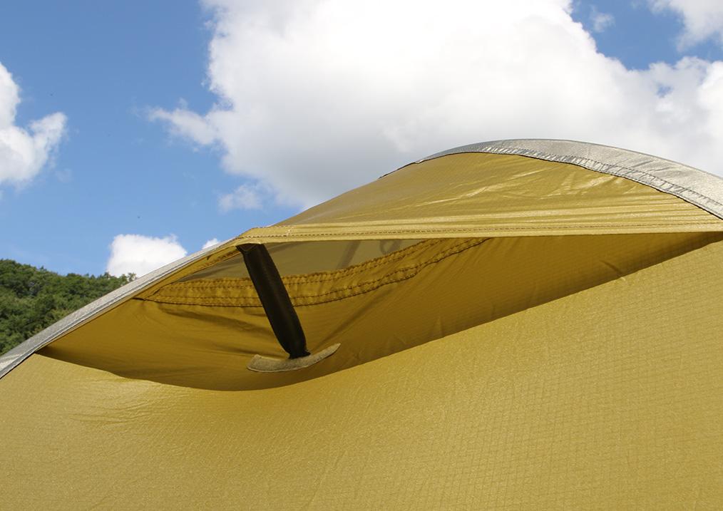 <tent-Mark DESIGNS >から設営3分、撤収1分のテント「ホーボーズネスト 2」8