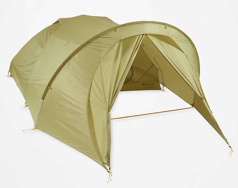とっても気になるマーモットタングステン軽量 テントのオプションフライ2