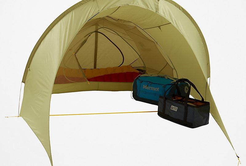 とっても気になるマーモットタングステン軽量 テントのオプションフライ3