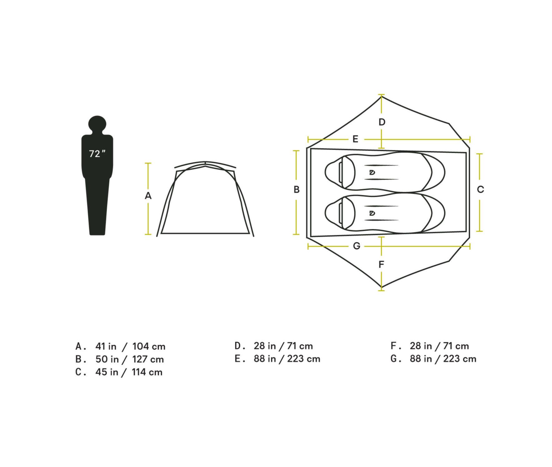 Nemo 2020ライン< Firefly 2 Person Tent >6