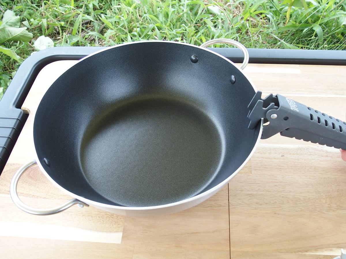 大きい鍋やフライパンに最適なEsbit(エスビット) グリッパー4
