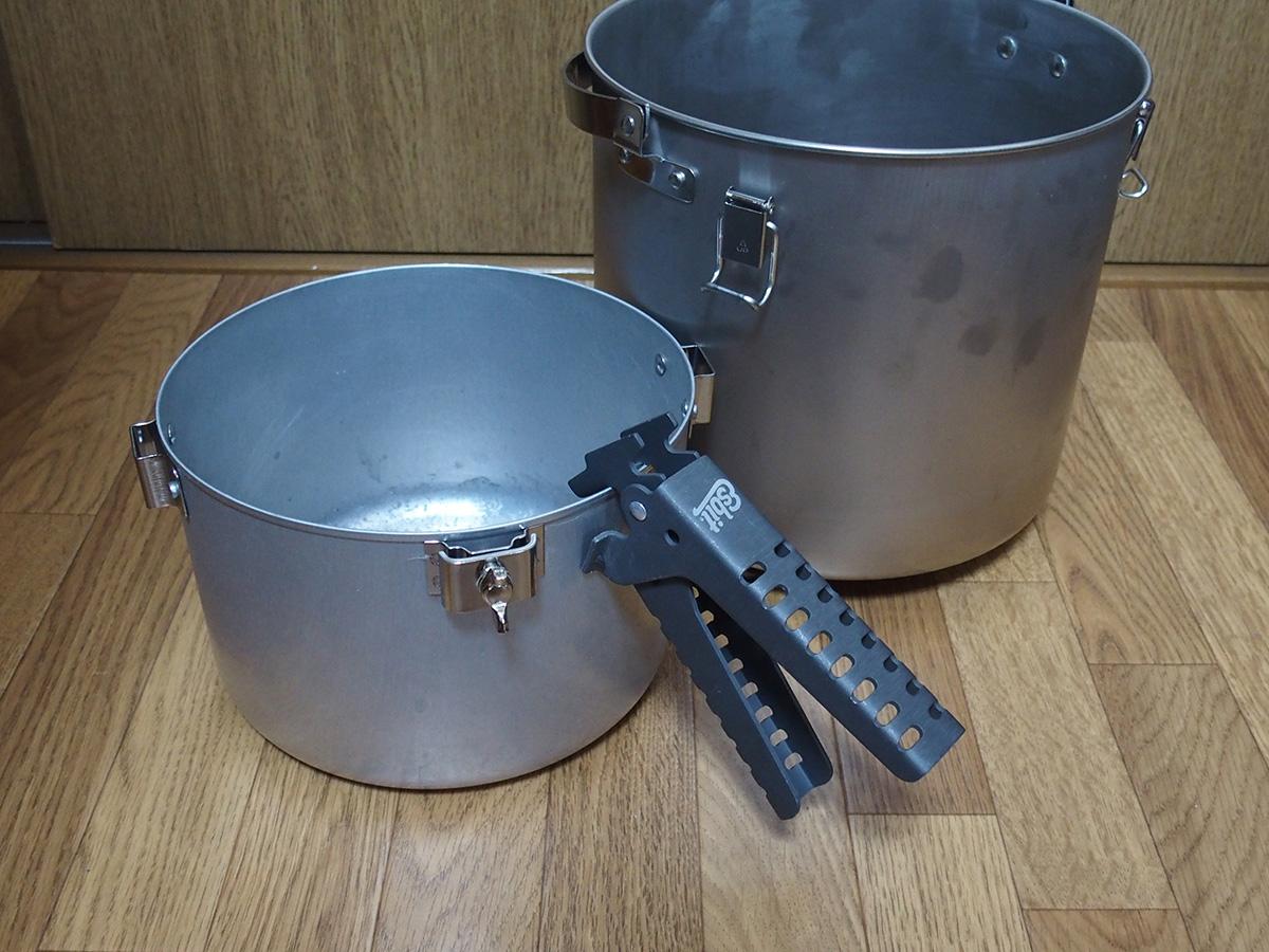 大きい鍋やフライパンに最適なEsbit(エスビット) グリッパー5