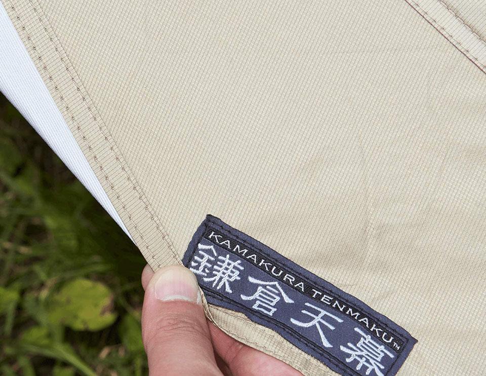 ソロキャンプ、ツーリングキャンプに最適!<鎌倉天幕 SOLOIST>テントの細部をチェック6