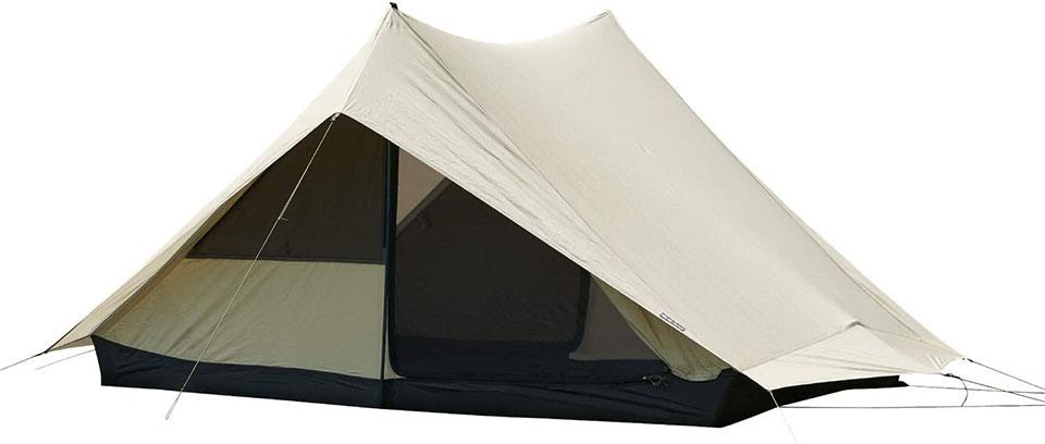ソロキャンプ、ツーリングキャンプに最適!<鎌倉天幕 SOLOIST>テントの細部をチェック7