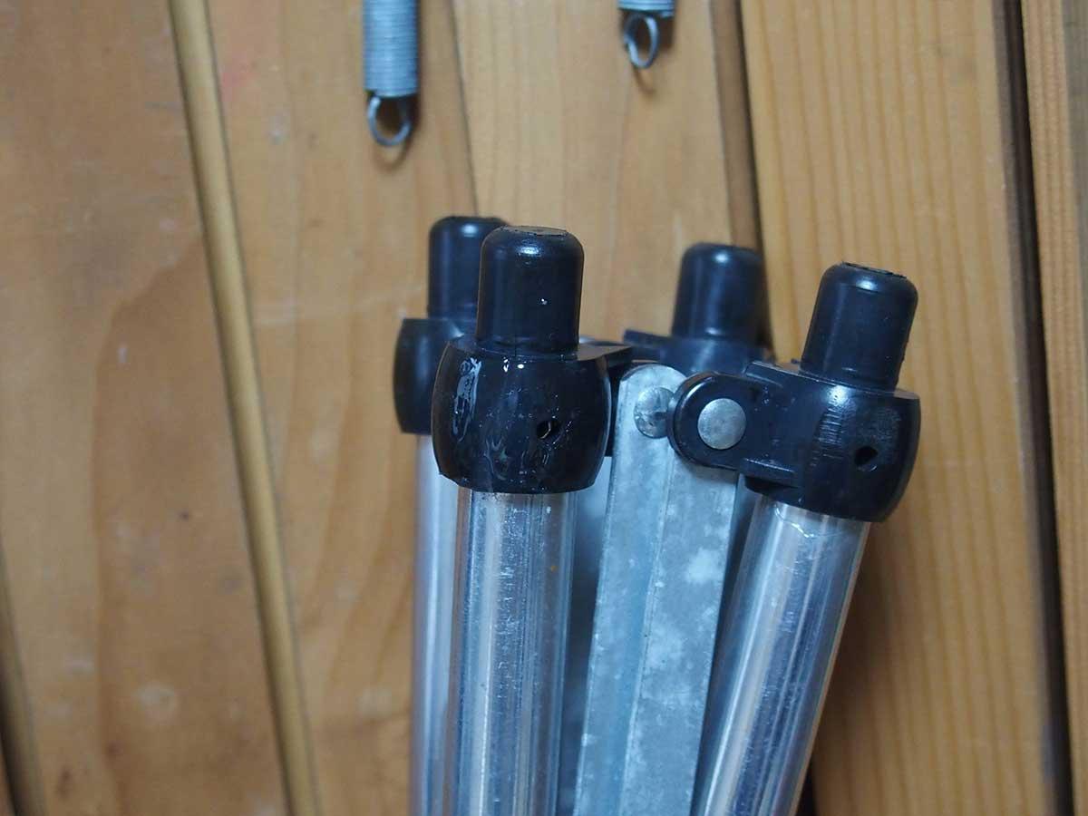 lallemand(ラレマンド)のウッドロールテーブルを修理&脚カット3